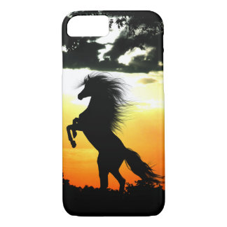 Horse at sunset iPhone 8/7 case