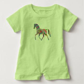 Horse Baby Romper