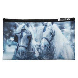 horse bag makeup bag