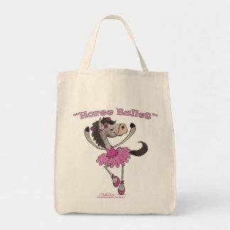 Horse Ballet Tote Bag