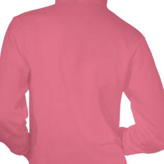 Horse_Beauty_(3)_Ladies_Deep_Pink_Fleece_Hoodie. Hooded Sweatshirts
