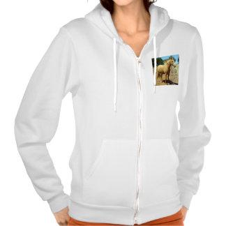 Horse_Beauty,(5),_Ladies_Fleece_Jacket. Sweatshirts