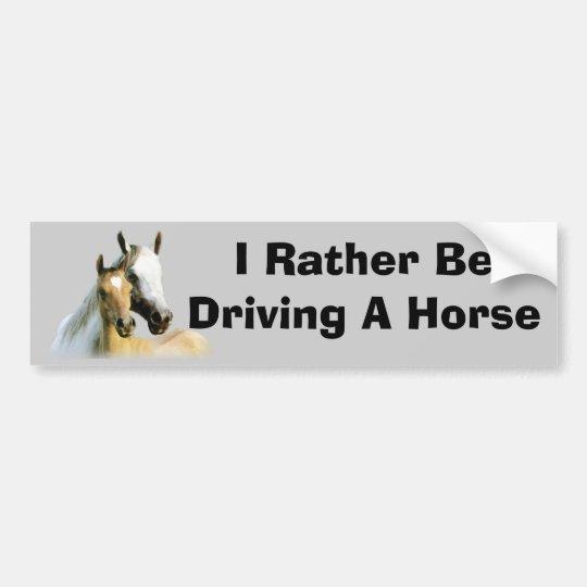 Horse Buddies Bumper Sticker