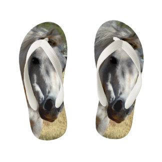Horse Called Snow White, Kid's Flip Flops