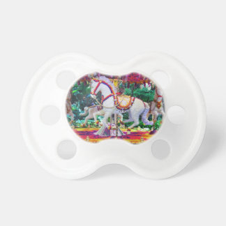 Horse Carousel Baby Pacifier