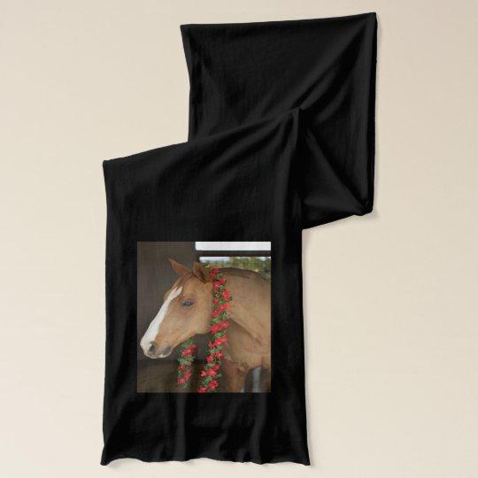 Horse Christmas Scarf
