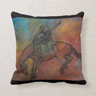 Horse Collection - Abstract Horse Pillow