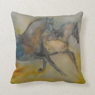 Horse Collection - Abstract Horse Pillow