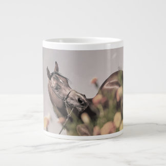 horse collection. arabian bay giant coffee mug