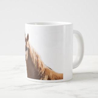 horse collection. arabian red giant coffee mug