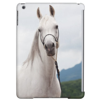 horse collection. arabian white iPad air cover