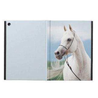 horse collection. arabian white iPad air cover