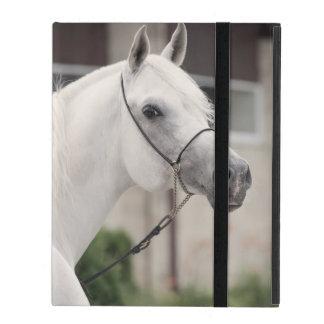horse collection. arabian white iPad case