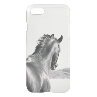 horse collection. B&W iPhone 8/7 Case
