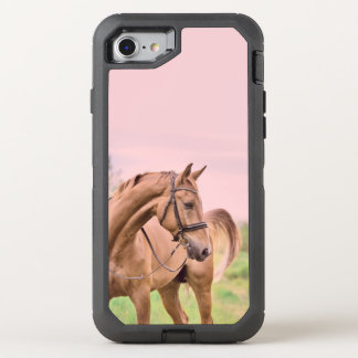 horse collection. sportive OtterBox defender iPhone 7 case