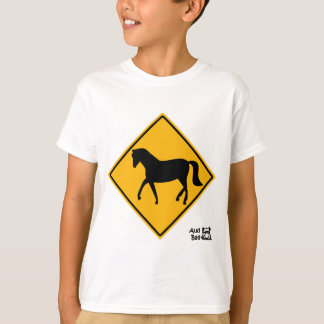 Horse Crossing Sign T-Shirt