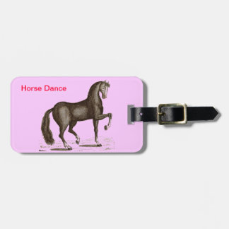 Horse Dance - DANCING HORSE Luggage Tag