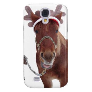 Horse deer - christmas horse - funny horse