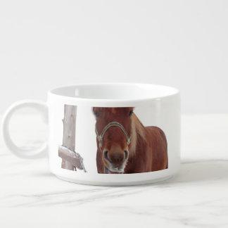 Horse deer - christmas horse - funny horse bowl