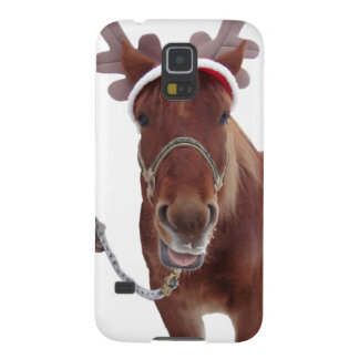Horse deer - christmas horse - funny horse cases for galaxy s5