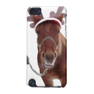 Horse deer - christmas horse - funny horse iPod touch 5G cover
