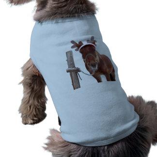 Horse deer - christmas horse - funny horse shirt