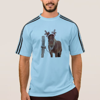 Horse deer - christmas horse - funny horse T-Shirt
