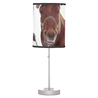 Horse deer - christmas horse - funny horse table lamp