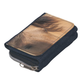 Horse Denim Wallet
