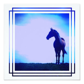 Horse Design Invitation