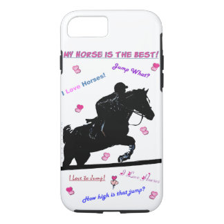 Horse Doodles iPhone 7 Case