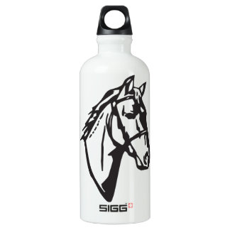 Horse Drawing Water Bottle