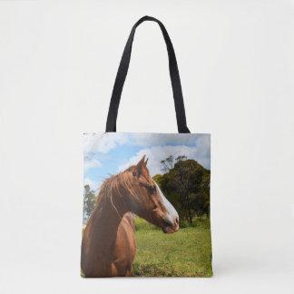 Horse Dreadlocks, Tote Bag