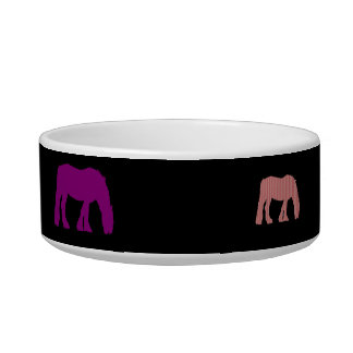 Horse Eating Standing Pet Bowl