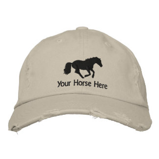 Horse Embroidered Hats