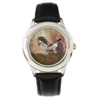 Horse Equine Kid's Stainless Steel Watch