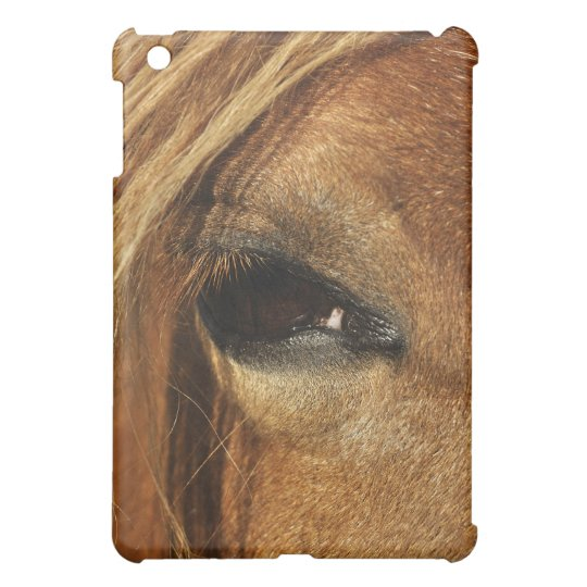 Horse eye photo case for the iPad mini