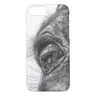 Horse Eye Reflection Closeup iPhone 7 Case