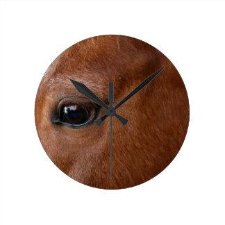 horse eye wallclock