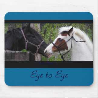 Horse Eyes Mousepad