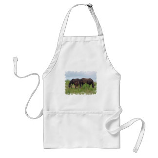 Horse Family Grazing Apron