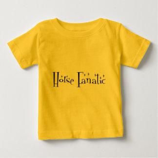 Horse Fanatic Baby Clothes Tshirts