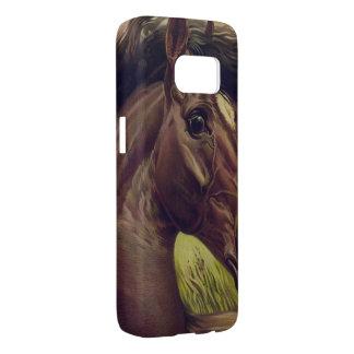 horse farm ranch ride sports western equine pet samsung galaxy s7 case