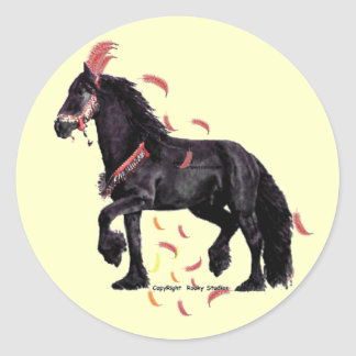 Horse Feathers Stickers