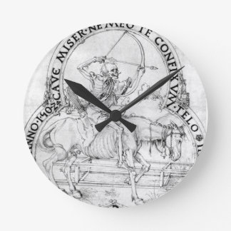 Horse final death by Albrecht Durer Wallclocks