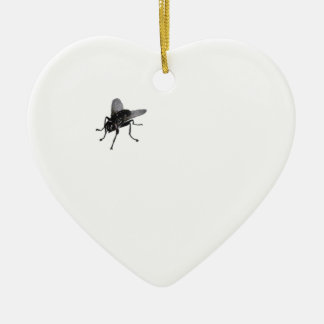 Horse fly. ceramic ornament
