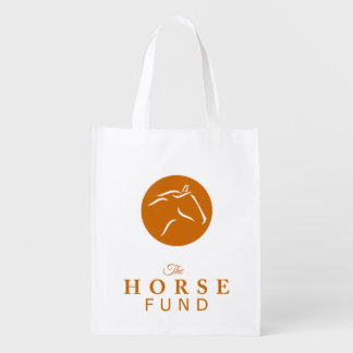Horse Fund Reusable Grocery Bag