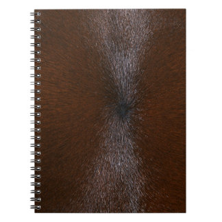 HORSE FUR SPIRAL NOTE BOOK
