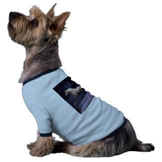 horse galloping dog tee shirt