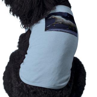 horse galloping dog shirt